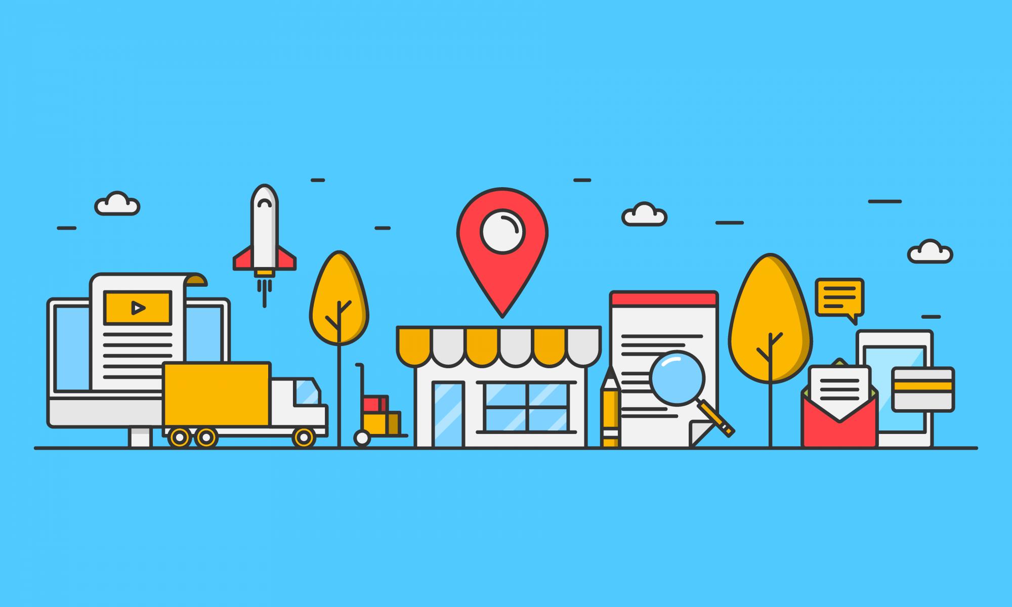 The local Searches - SEO